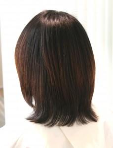 縮毛矯正 髪質改善<ミディアム1>