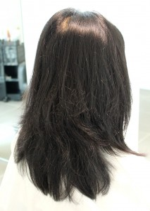 縮毛矯正 髪質改善<セミロング>