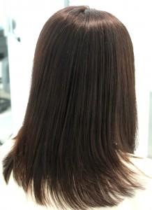 縮毛矯正 髪質改善<ミディアム3>
