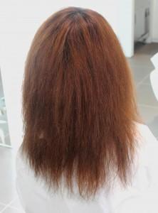 縮毛矯正 髪質改善<ミディアム4>
